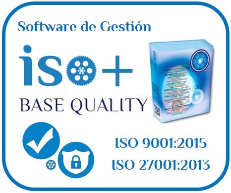 Software de Gestión de Integral de Calidad ISO 9001 y Seguridad de la información ISO 27001 2013