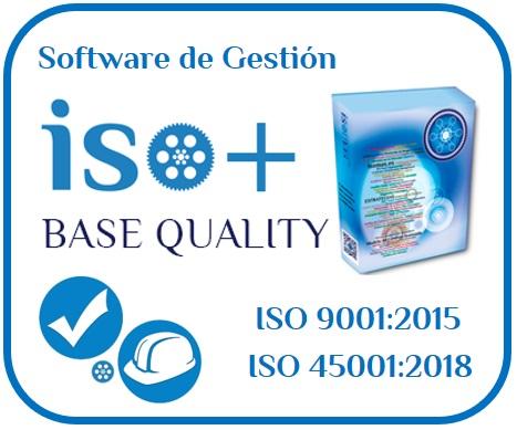 Software de Gestión de Integral de Calidad ISO 9001 y Seguridad – Salud en el Trabajo ISO 45001 2018