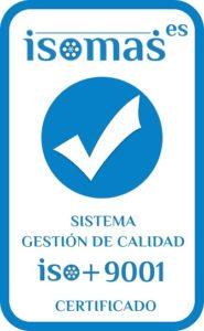 Sello ISOMAS ISO 9001:2015